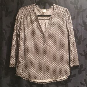 H&M loose 3/4 shirt